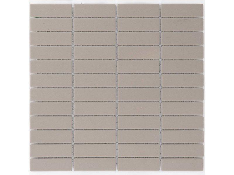 Feinsteinzeugmosaik Beige - 28,6 cm x 29,5 cm