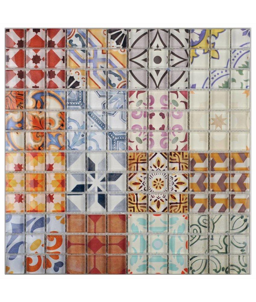 Vintage Retro Fliesen Mosaic Outlet
