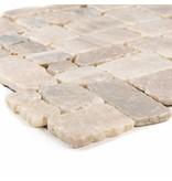 Mosaikfliese  Marmor Murcino Onyx - 30 cm x 30 cm