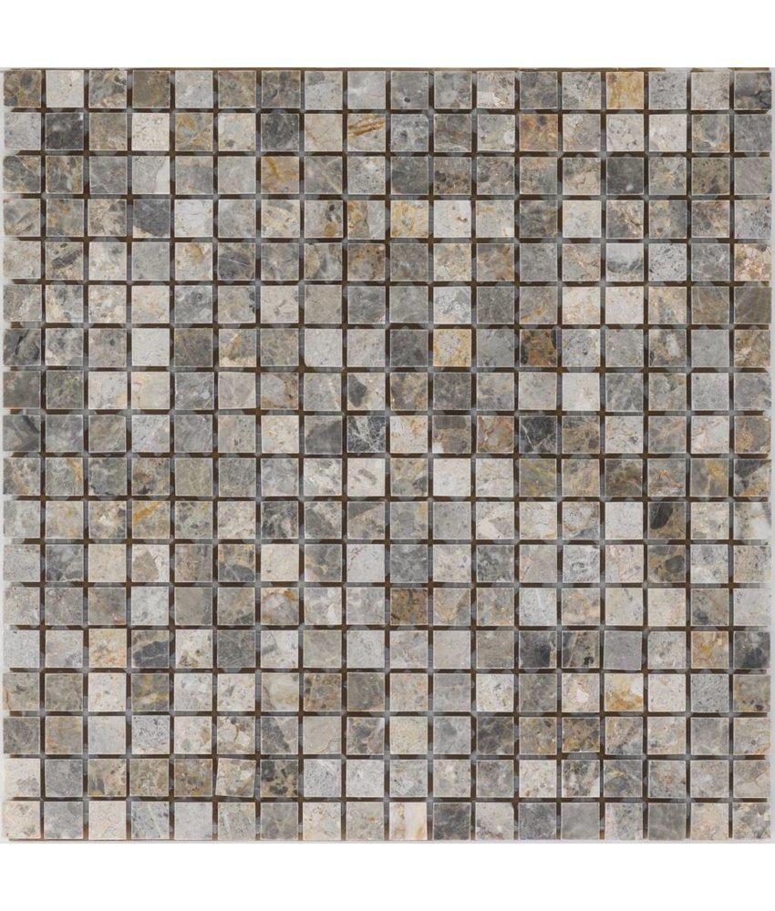 Mosaikfliese Marmor Golden Vein - 30,5 cm x 30,5 cm