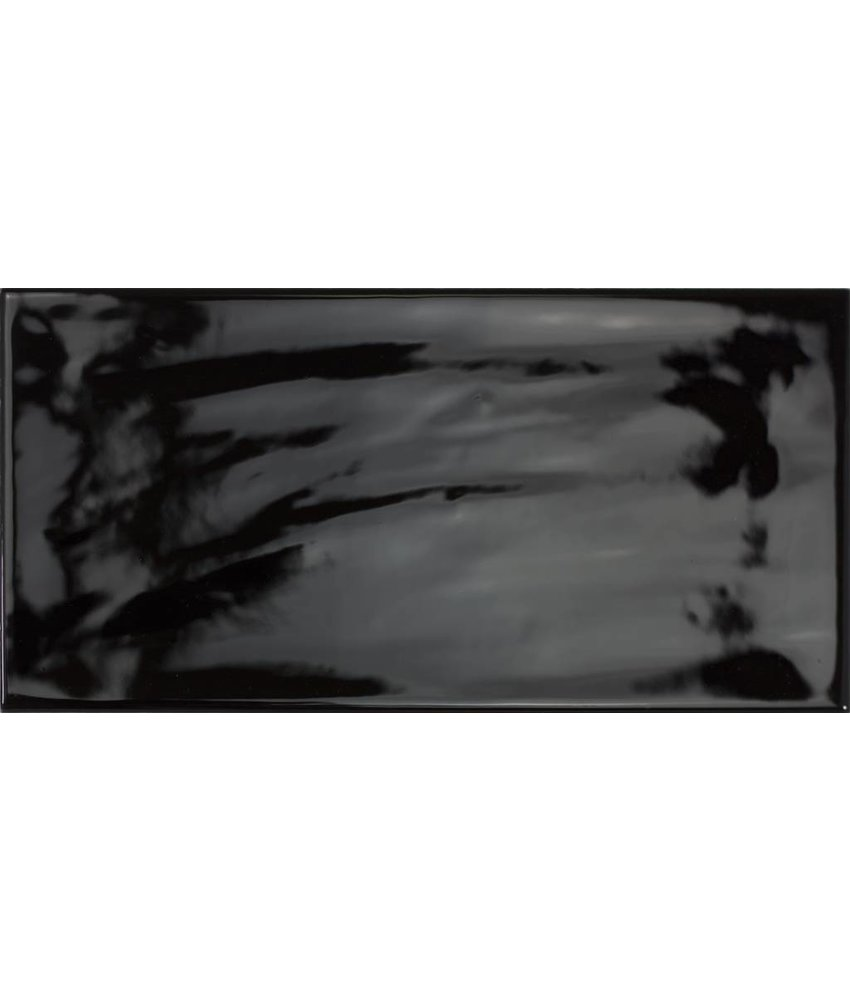 Wandfliese Vintage Loft Schwarz - 10 cm x 20 cm