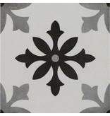 Bodenfliese Vintage Art Blanco - 22,3 cm x 22,3 cm
