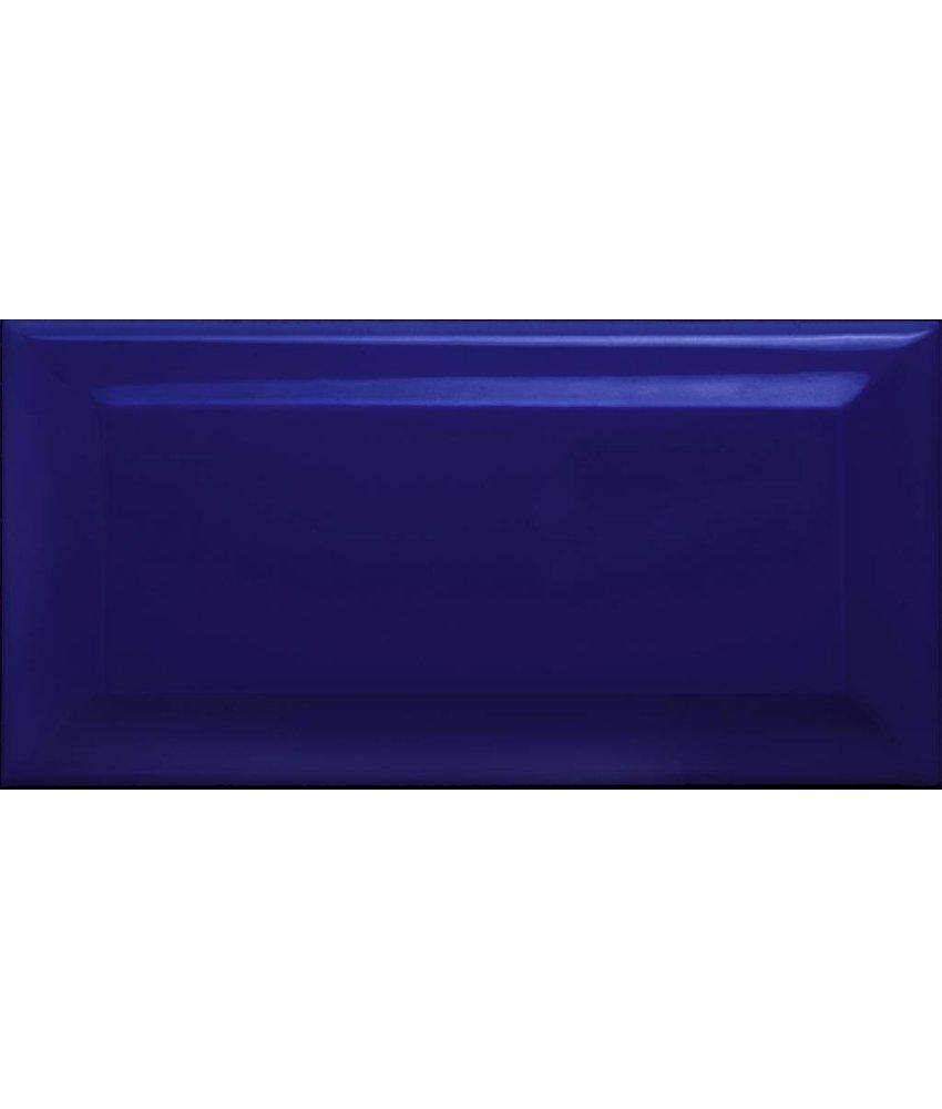 Facettenfliese Metro Blau  - 7,5 cm x 15 cm