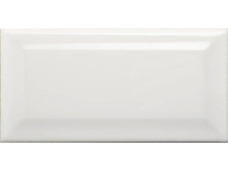 Facettenfliese Metro Weiß  - 7,5 cm x 15 cm