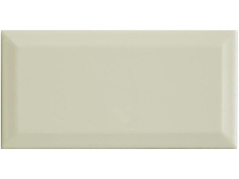 Facettenfliese Metro Creme  - 10 cm x 20 cm