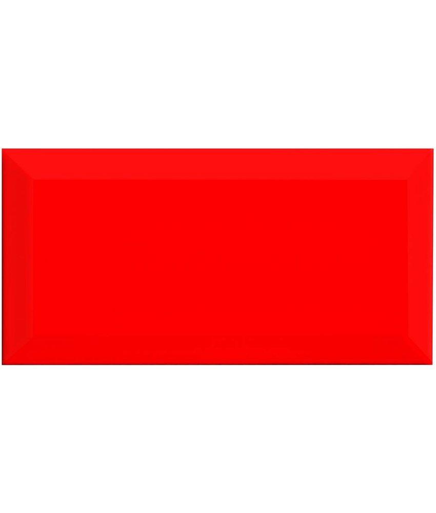 Facettenfliese Metro Rot  - 10 cm x 20 cm