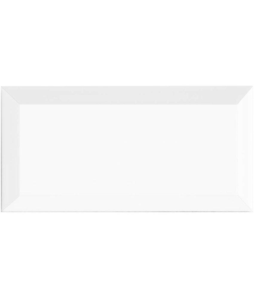 Facettenfliese Metro Weiß  - 10 cm x 20 cm