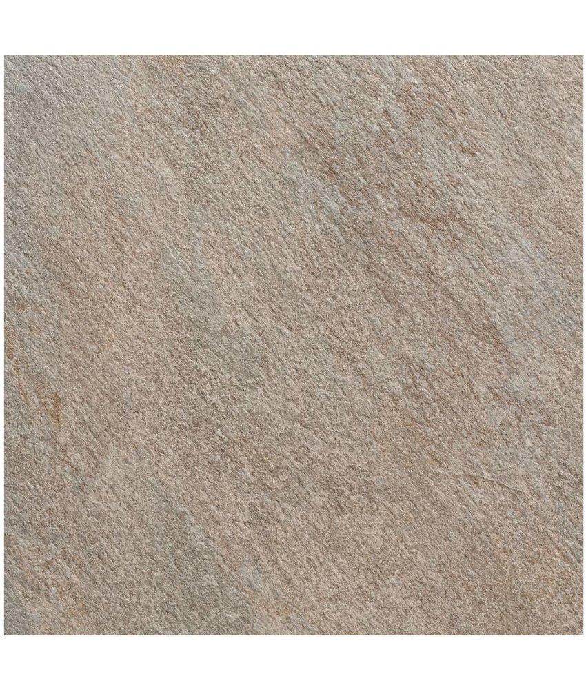 Terrassenplatte Feinsteinzeug Manhattan Grau - 60 cm x 60 cm
