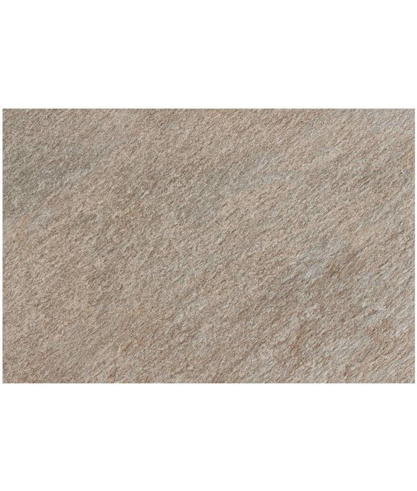 Terrassenplatte Feinsteinzeug Manhattan Grau - 60 cm x 90 cm