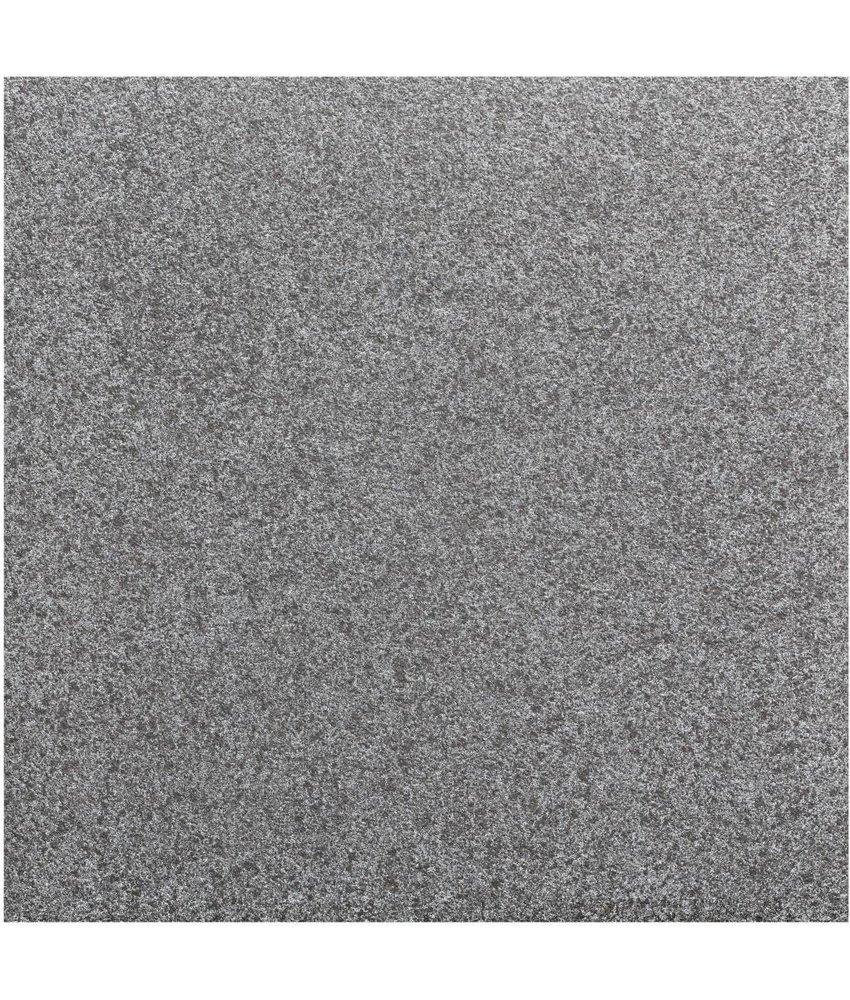 Terrassenplatte Feinsteinzeug Manhattan Schwarz - 60 cm x 60 cm