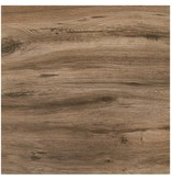 Terrassenplatte Feinsteinzeug Strobus Ebony Holzoptik - 60 cm x 60 cm