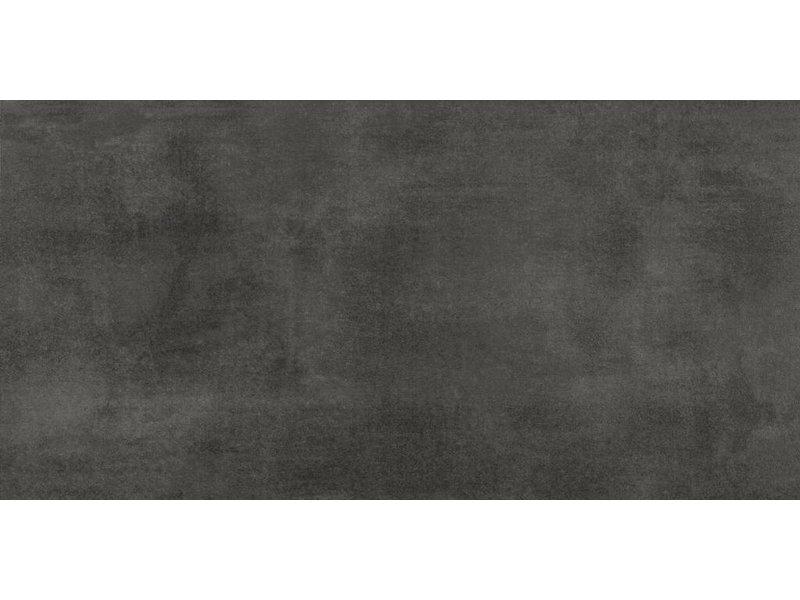 Terrassenplatte Feinsteinzeug Streetline Graphit - 30 cm x 60 cm