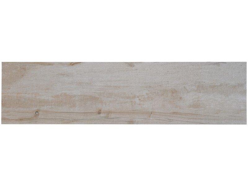 Terrassenplatte Feinsteinzeug Timberwood Natural - 30 cm x 120 cm