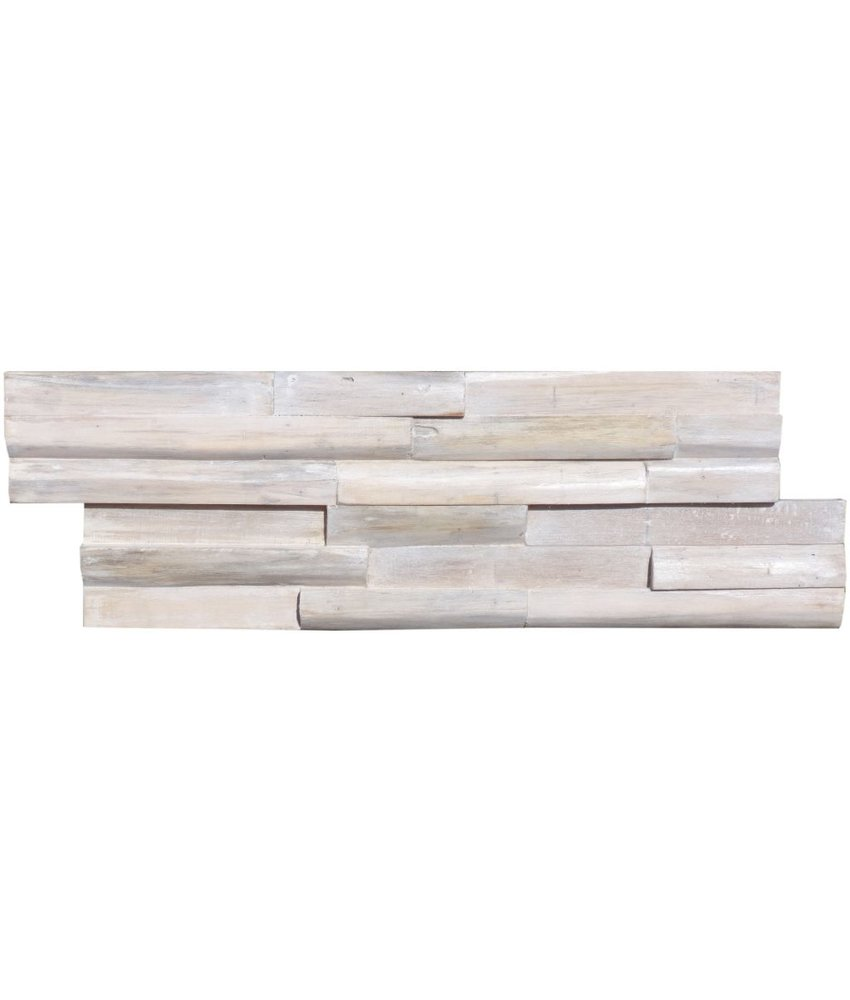 Wandverblender Holz Vintage - 15 cm x 60 cm