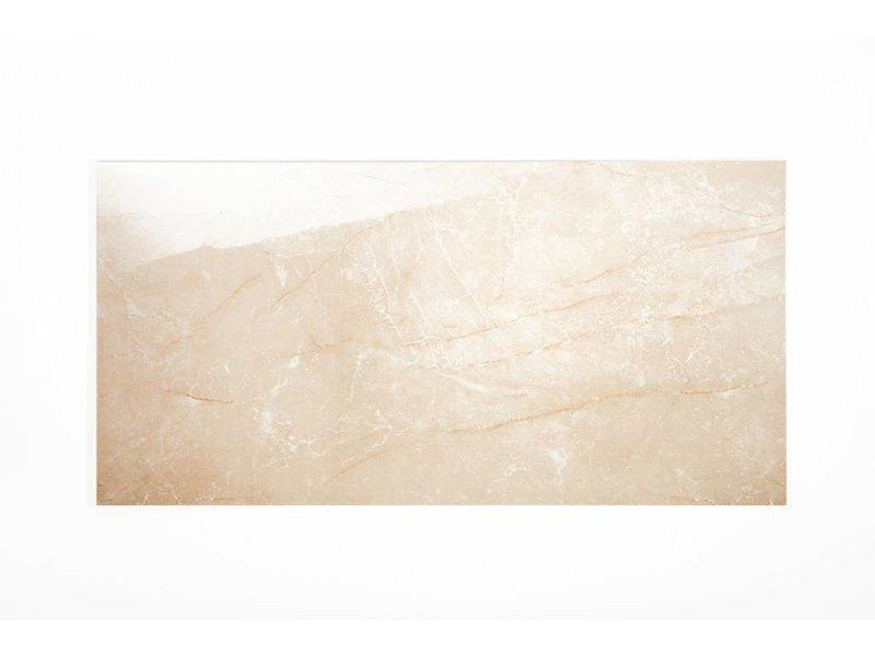 Wandfliesen rektifiziert - ALABASTRO beige glänzend - 30x60 cm