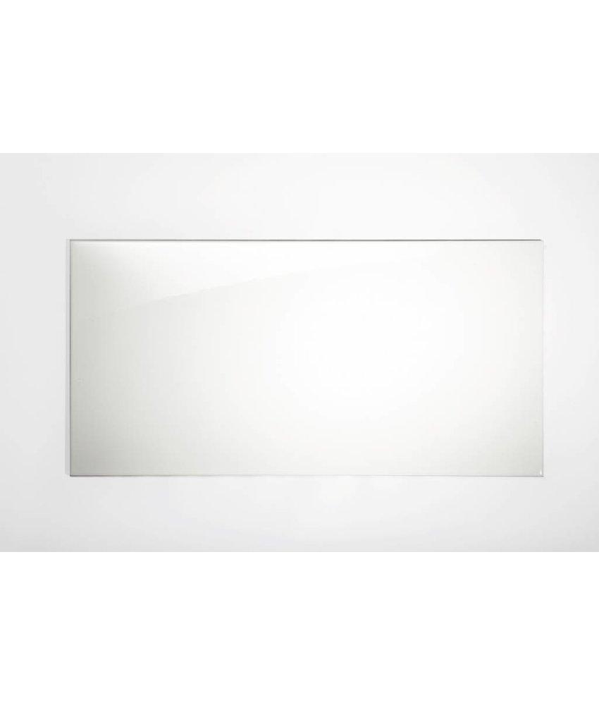 Wandfliesen rektifiziert - weiß glänzend - 45x90 cm