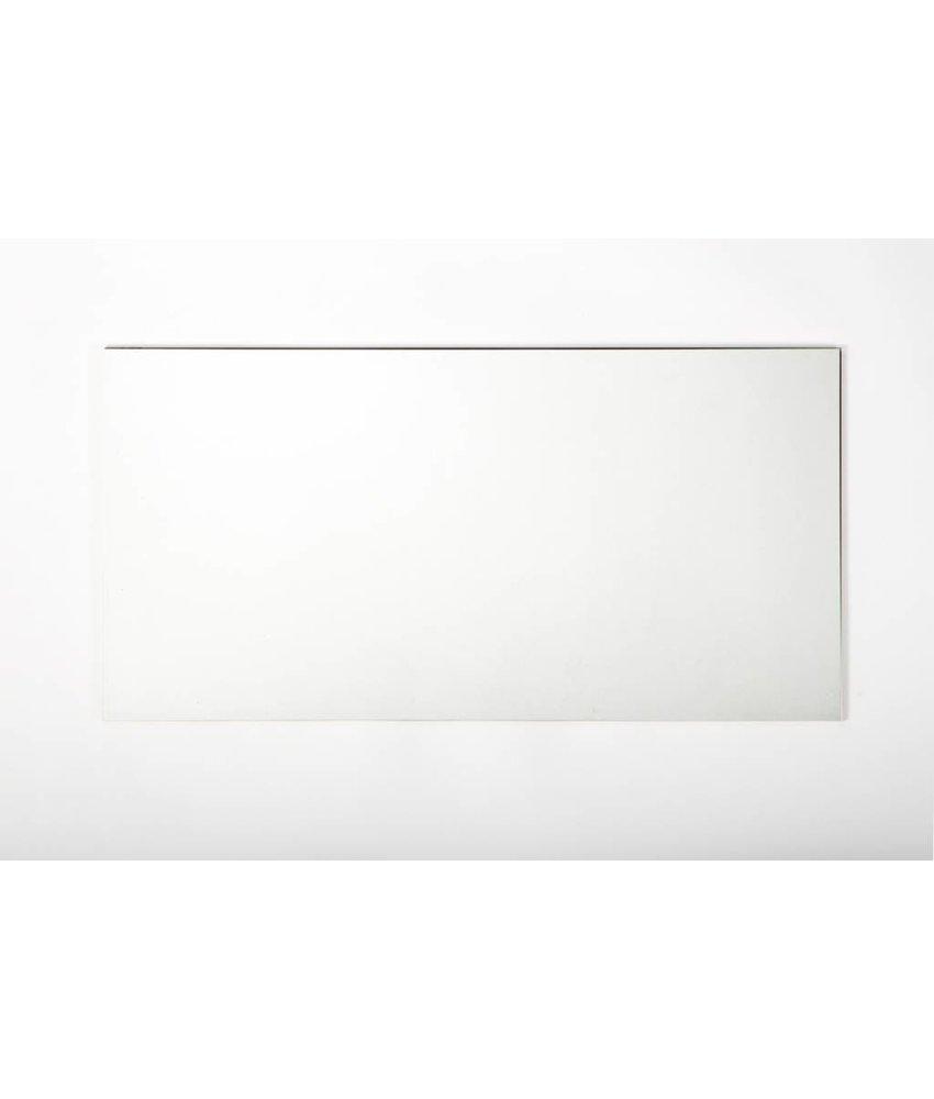 Wandfliesen rektifiziert - weiß matt - 45x90 cm