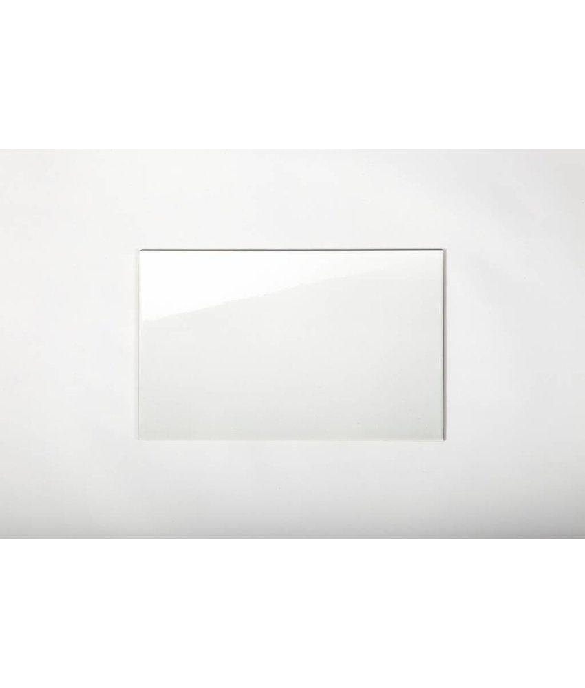 Wandfliesen nicht rektifiziert - weiß glänzend - 25x40 cm