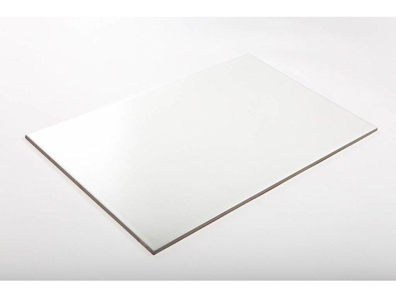 Wandfliesen nicht rektifiziert - weiß matt - 25x40 cm