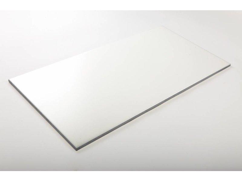 Wandfliesen nicht rektifiziert - weiß matt - 25x50 cm