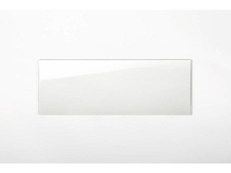 Wandfliesen nicht rektifiziert - weiß glänzend - 20x60 cm
