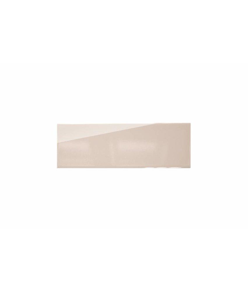 Metro Fliesen 9,7x29,7 cm - creme glänzend - 10x30 cm