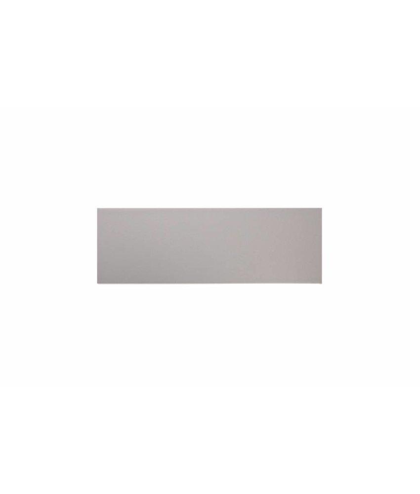 Metro Fliesen 9,7x29,7 cm - hellgrau matt - 10x30 cm