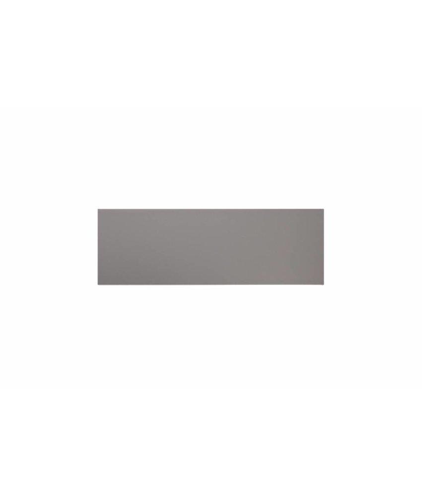 Metro Fliesen 9,7x29,7 cm - grau matt - 10x30 cm