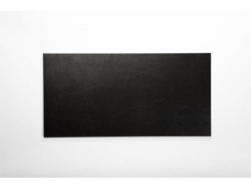 Feinsteinzeug glasiert und eingefärbt - PASCAL schwarz - 30x60 cm