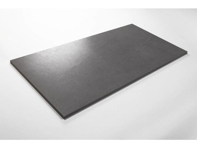 Feinsteinzeug glasiert und eingefärbt - PASCAL dunkelgrau - 30x60 cm