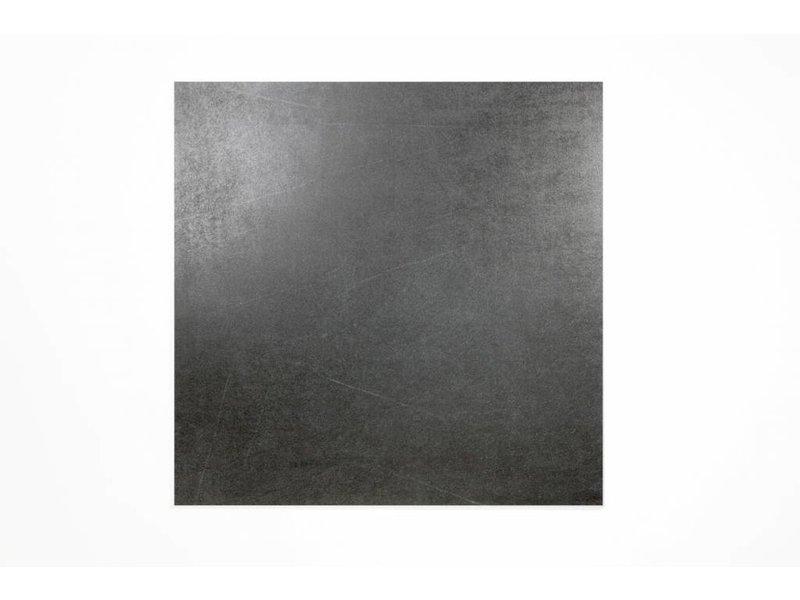 Feinsteinzeug glasiert und eingefärbt - PASCAL schwarz - 60x60 cm