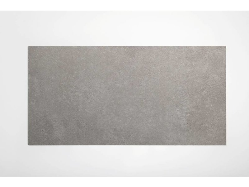 Feinsteinzeug glasiert und eingefärbt - BROOKLYN Zementoptik grey - 30x60 cm