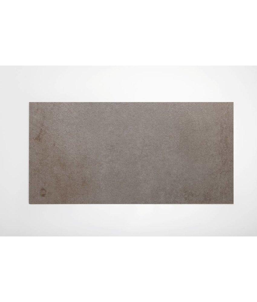 Feinsteinzeug glasiert und eingefärbt - BROOKLYN Zementoptik dark grey - 30x60 cm