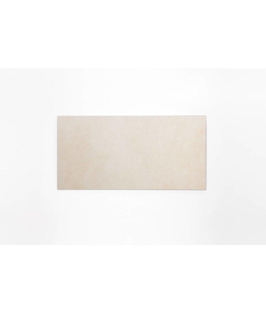 Feinsteinzeug glasiert und eingefärbt - BROOKLYN Zementoptik ivory - 30x60 cm