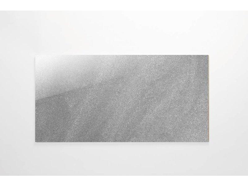Feinsteinzeug Double Loading - Chroma grau poliert - 30x60 cm