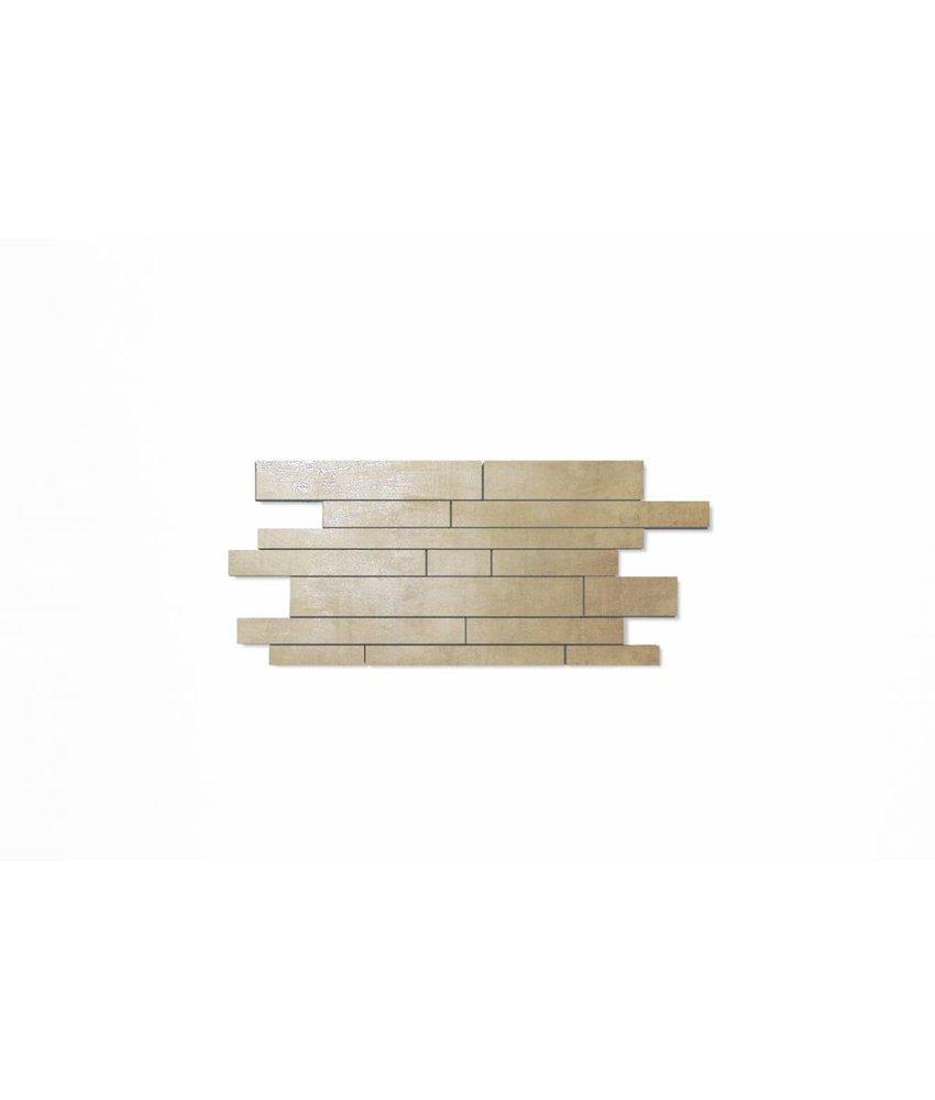 Feinsteinzeug Mosaik - COSMIC hellgrau Mauerverband - 29,8x71,9 cm