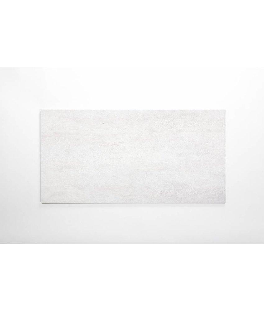 Feinsteinzeug glasiert - CALISSI hellgrau - 40x80 cm
