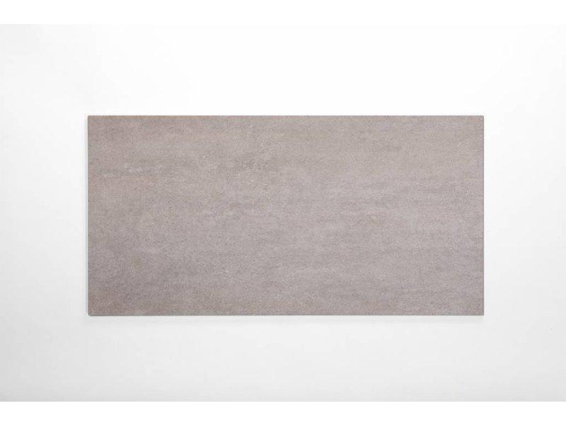 Feinsteinzeug glasiert - CALISSI dunkelgrau - 40x80 cm