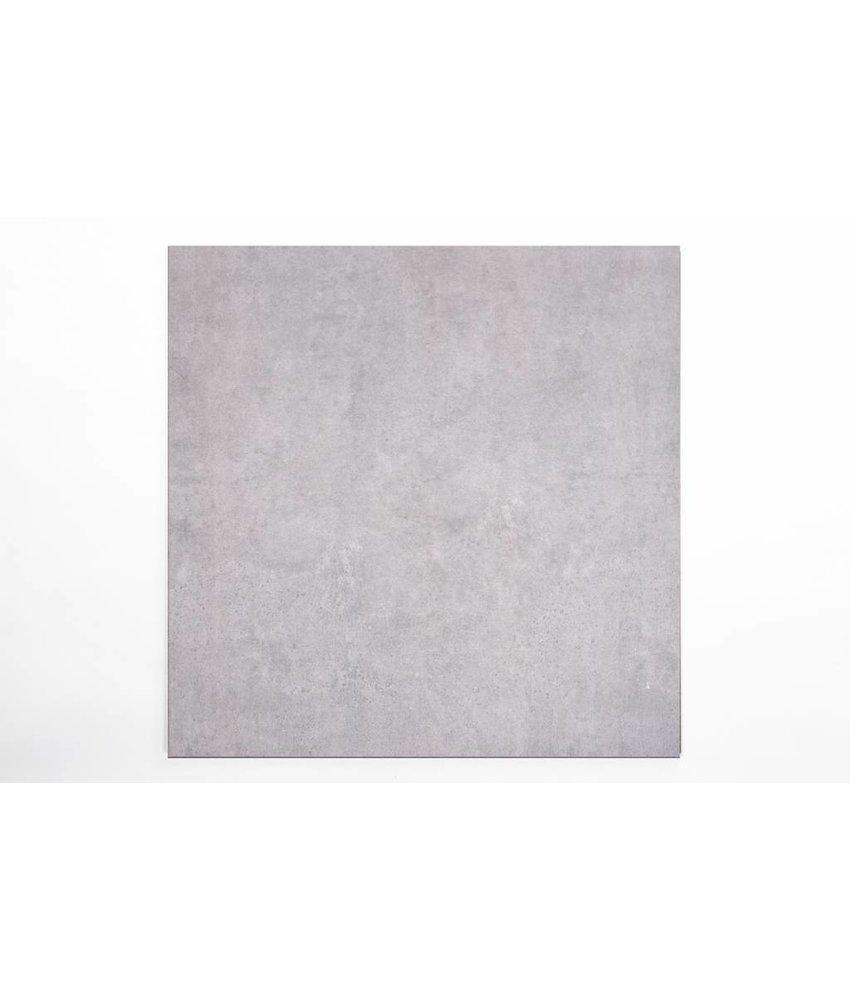 Feinsteinzeug glasiert - CALISSI grau - 80x80 cm