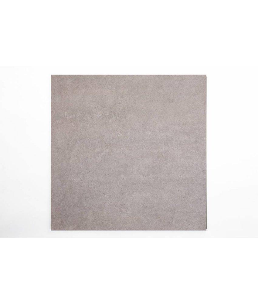 Feinsteinzeug glasiert - CALISSI dunkelgrau - 80x80 cm