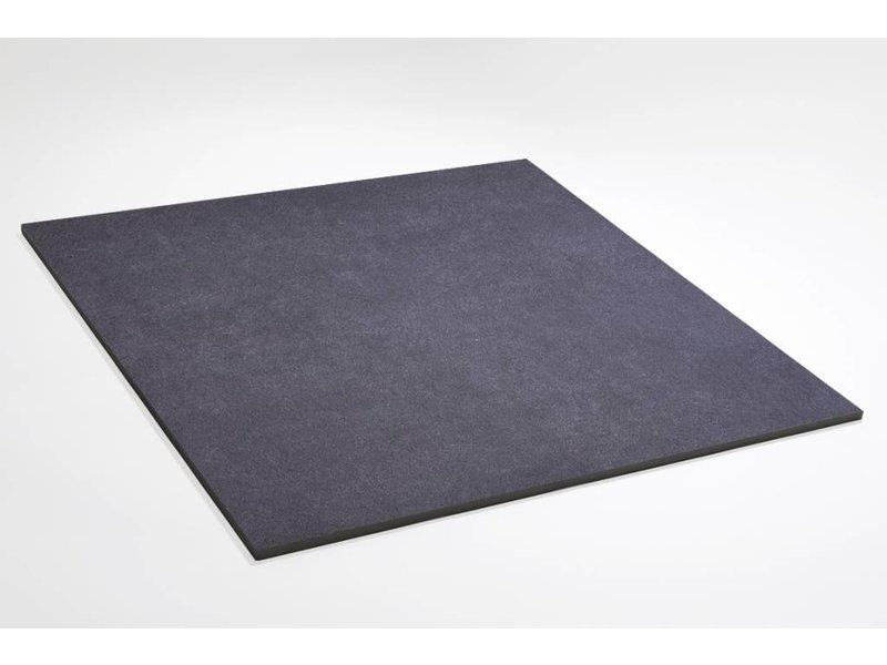 Feinsteinzeug glasiert - CALISSI anthrazit - 80x80 cm