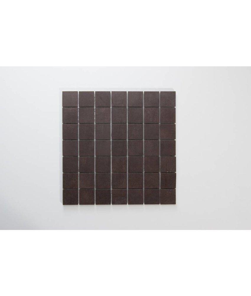 Feinsteinzeug Mosaik - PRAG mocca - 5x5 cm