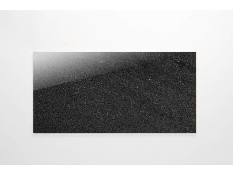 Feinsteinzeug Double Loading- Chroma anthrazit poliert - 30x60 cm