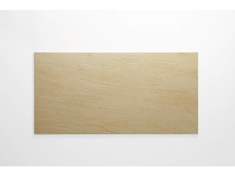 Feinsteinzeug unglasiert - QUARZIT beige - 30x60 cm