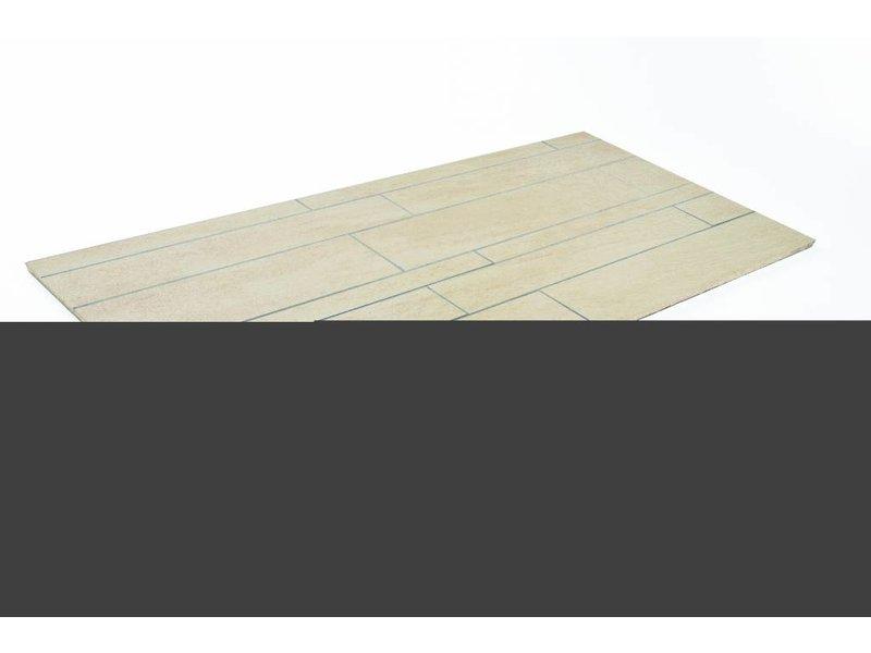 Feinsteinzeug unglasiert Format Mix - QUARZIT beige - 4,8+9,8+14,8x60 cm