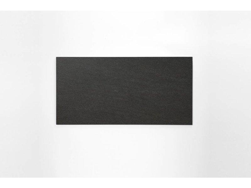 Feinsteinzeug unglasiert - PICCADILLY schwarz - 30x60 cm