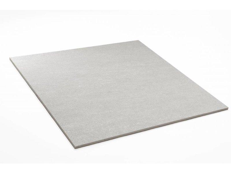 Feinsteinzeug unglasiert - PICCADILLY hellgrau - 60x60 cm