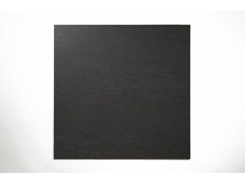 Feinsteinzeug unglasiert - PICCADILLY schwarz - 60x60 cm