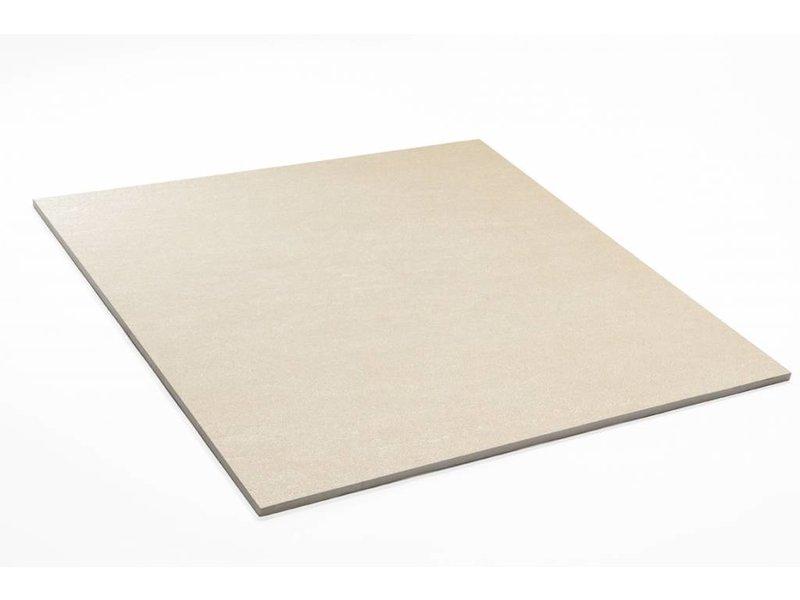 Feinsteinzeug unglasiert - PICCADILLY hellbeige - 60x60 cm