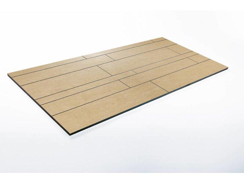 Feinsteinzeug unglasiert Format Mix - PICCADILLY beige - 4,8+9,8+14,8x60 cm